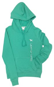 PINK Hooded Pull Over Xs Sweatshirt