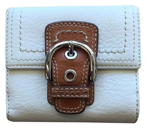 Coach Coach Leather Buckle Bifold Wallet