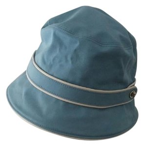 Coach Coach Boat Hat with silver buckle