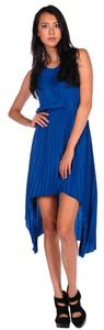 Blue Maxi Dress by BB Dakota Bb High-low Hi-lo