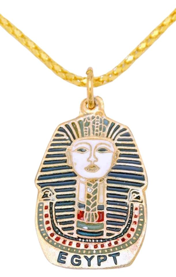 egyptian other pendant red tutankhamun blue king i tut white charm ancient
