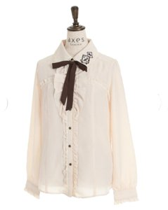 Axes Femme Top Ivory