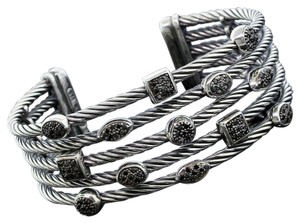 David Yurman DAVID YURMAN BLACK DIAMOND BRACELET