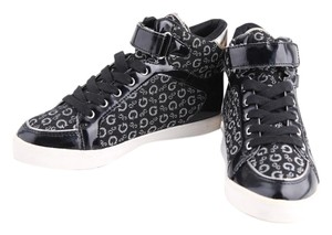 Guess High-top Black/Silver Black Athletic