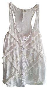 LC Lauren Conrad Top White