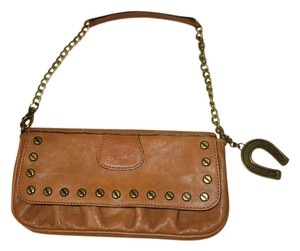 Betsey Johnson brown Clutch
