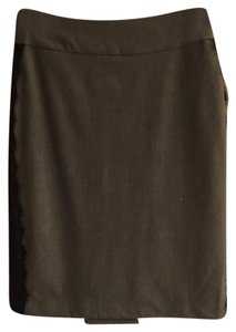 New York & Company Skirt Gray