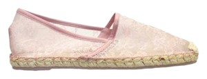 Valentino Espadrilles Lace Pink Flats