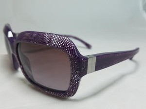 Chanel Stunning Chanel Purple Lace Rectangular Sunglasses. 5155 c.1155/3L