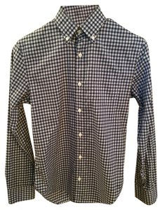 Club Monaco Button Down Shirt Blue-green