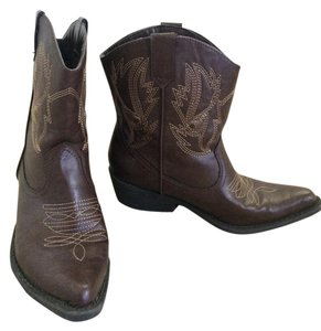 Old Navy Cowboy Brown Boots