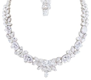 Crystal Wedding Necklace/set