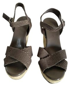 Jessica Simpson grey Wedges