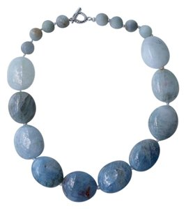 Marta's Designs Chunky Aquamarine Necklace