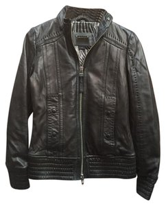 Mackage Womens Leather Leather Jacket