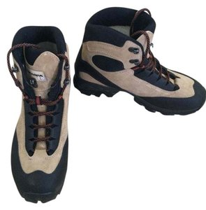 scarpa Hiking camel and black Boots