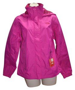 The North Face The North Face Revolve HyVent Rain Jacket Luminous Pink Size L $90 NWT