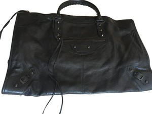 Balenciaga Work Tote in Black