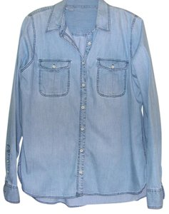 J. Jill Shirt Top Chambray