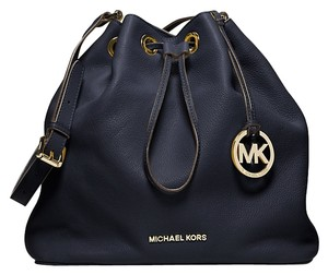 Michael Kors Leather Bucket Large Shoulder Bag