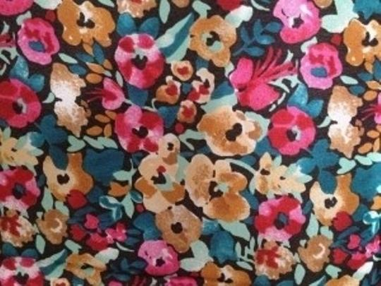 Other Floral square silk scarf