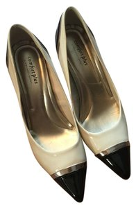 Predictions Patent Leather Pump ivory/black Pumps