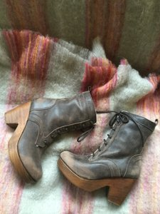 FreeBird Fiona Distressed Brown Video Link Provided Sz 38 Fur Lined Boots