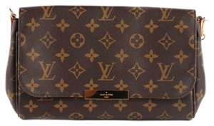 Louis Vuitton Favorite Mm Eva. Strap Cross Body Bag