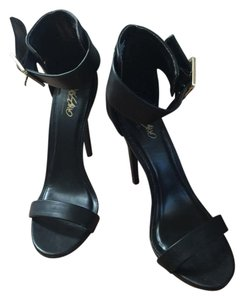 Mossimo Supply Co. Strappy Heels Sexy Heels Black Pumps