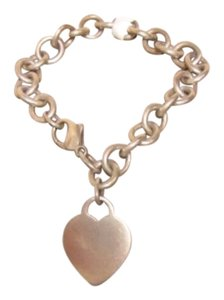Tiffany & Co. Tiffany Engravable Heart Bracelet