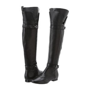 Belle by Sigerson Morrison Leather Over-the-knee Over The Knee Black Boots
