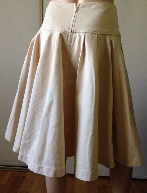 Oscar de la Renta Skirt Cream
