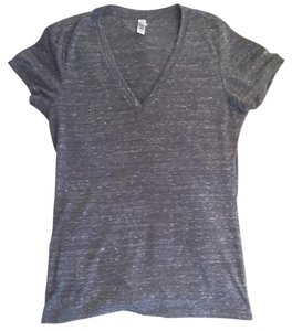 Bella V-neck Gray T Shirt Dark Gray