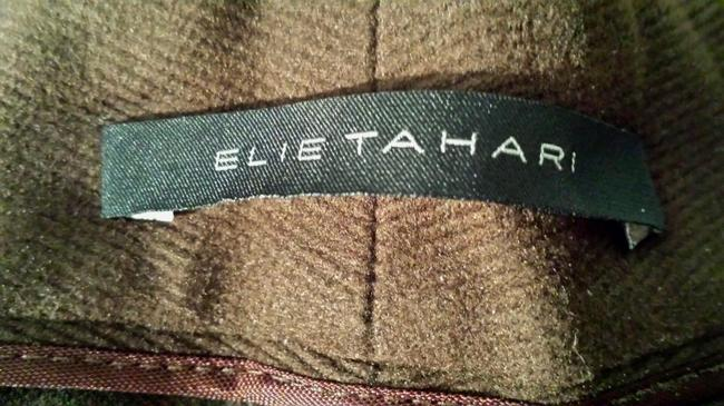 Elie Tahari Office Size 6 Trouser Pants Cocoa