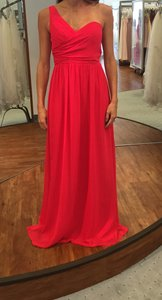 Alfred Angelo Pomegranate Style 7257 Dress