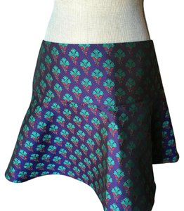 Club Monaco Mini Skirt Jewel tones