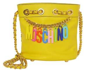 Moschino Bucket Charm Cross Body Bag