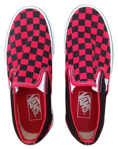 Vans Red/black Athletic