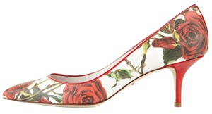 Dolce&Gabbana Red & White Pumps