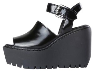 Opening Ceremony Black Sandals