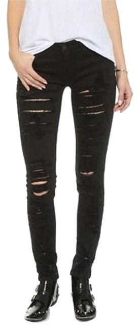 Item - Distressed Ripped Skinny Jeans Size 27 (4, S)