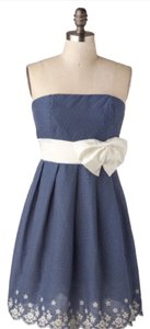 Modcloth short dress Blue And White on Tradesy