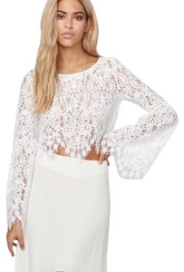 For Love & Lemons Top Ivory