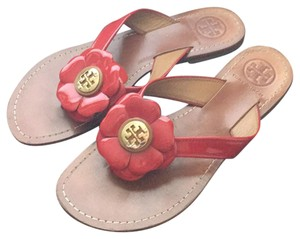 Tory Burch Cherry Red Sandals