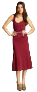 Burgandy Maxi Dress by Covet Tank Lace Back Lace