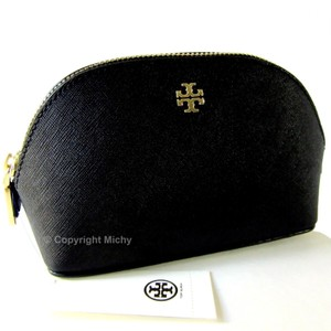Tory Burch Tory Burch York Saffiano Leather Small Makeup Bag Cosmetic Case