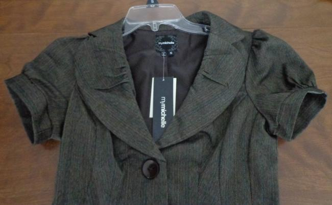 My Michelle Juniors Size Small Suit Separates: My Michelle Grey Suit Jacket