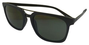Von Zipper New VONZIPPER Sunglasses VZ PLIMPTON Black Satin Frame w/ Grey-Green Lenses