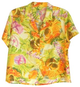 Jams World Hawaii Casual Button Down Shirt