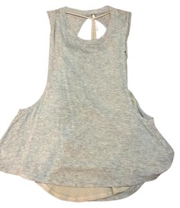 Free People Gray Xs Top Gray/Beige